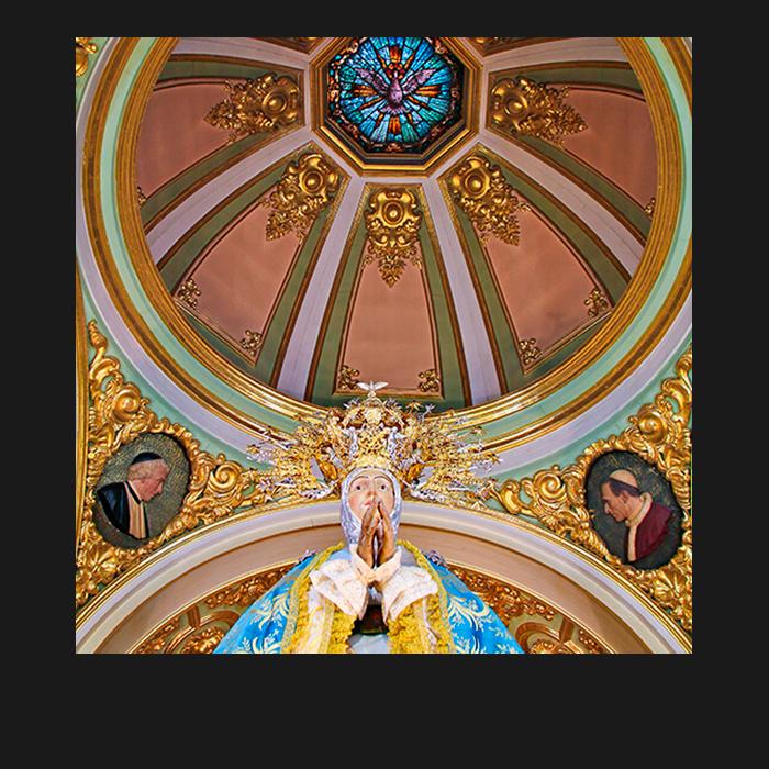 Patrimonio, Camarín. Basílica Santa María Elche