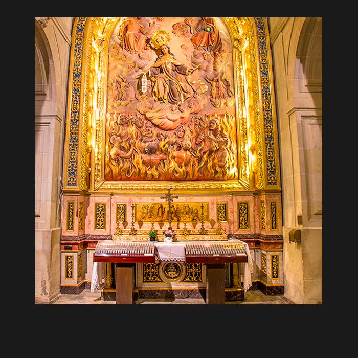 Patrimonio, Capillas. Basílica Santa María Elche