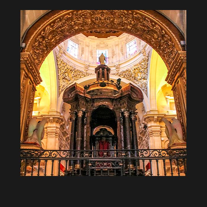 Patrimonio, Deambulatorio. Basílica Santa María Elche