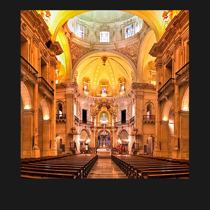 Patrimonio, Nave Central. Basílica Santa María Elche