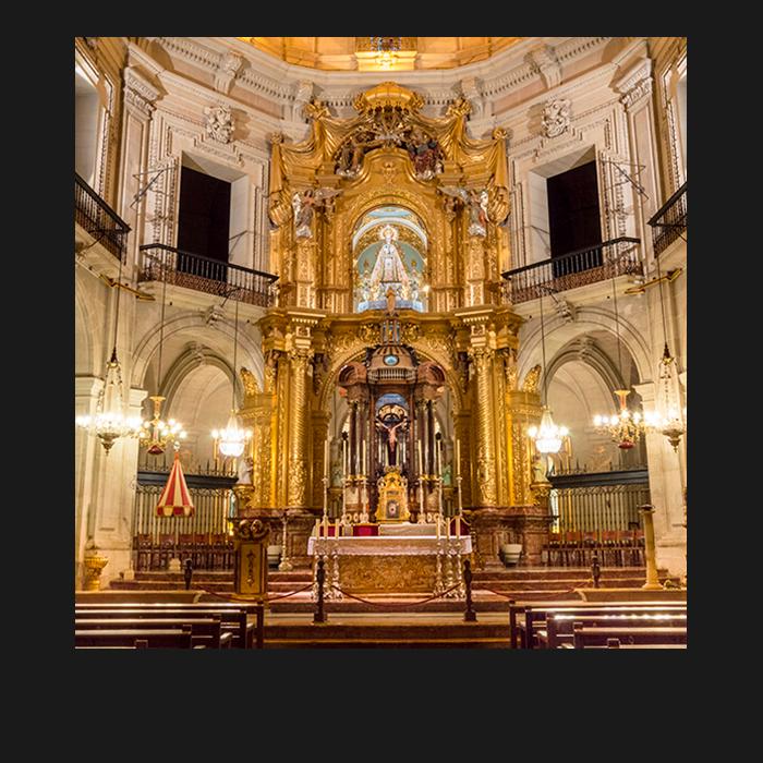 Patrimonio, Presbiterio. Basílica Santa María Elche