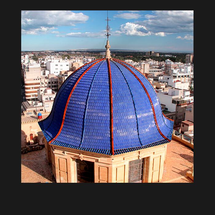 Patrimonio, Torre. Basílica Santa María Elche