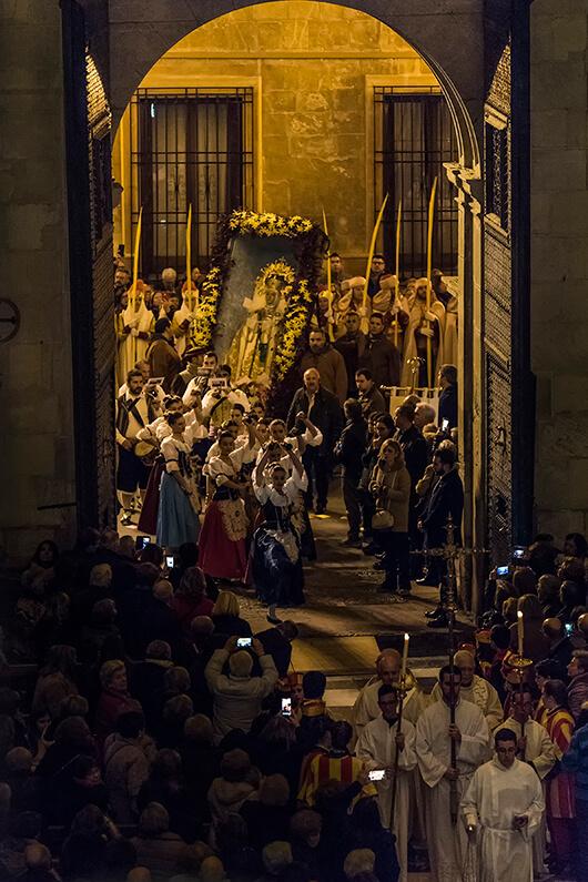Venida Virgen Santa Maria Elche